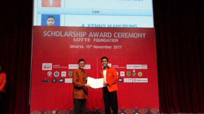 Lotte Foundation Kembali Memberikan Beasiswa