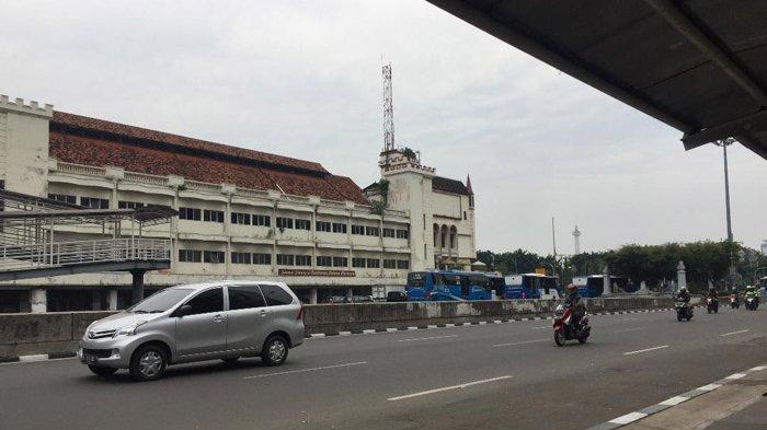 Pukul 11.40 Arus Lalin di Jalan Gajah Mdda ke Arah Istana Negara Lancar