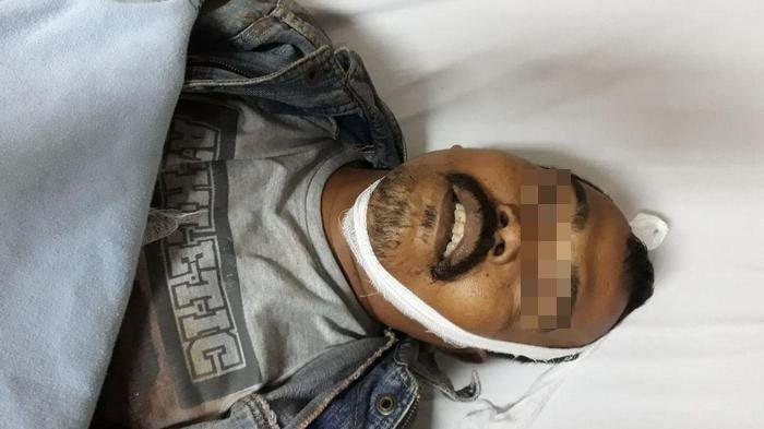 Bandit di Tangerang Nekat Tikam Polisi dengan Pisau Sangkur