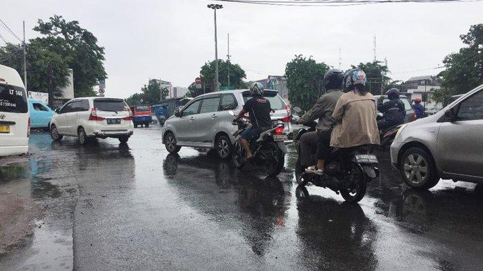 Pukul 12.30 Lalin di Jalan Pemuda Ramai Lancar