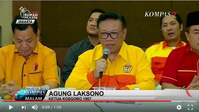 Perebutan Kursi Ketua DPD Golkar Kota Bekasi, Agung Laksono: Perubahan Sebuah Keniscayaan