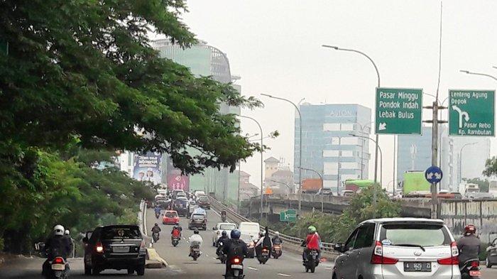 Pukul 09.30 Arus Lalin Jalan TB Simatupang ke Lebak Bulus Lancar