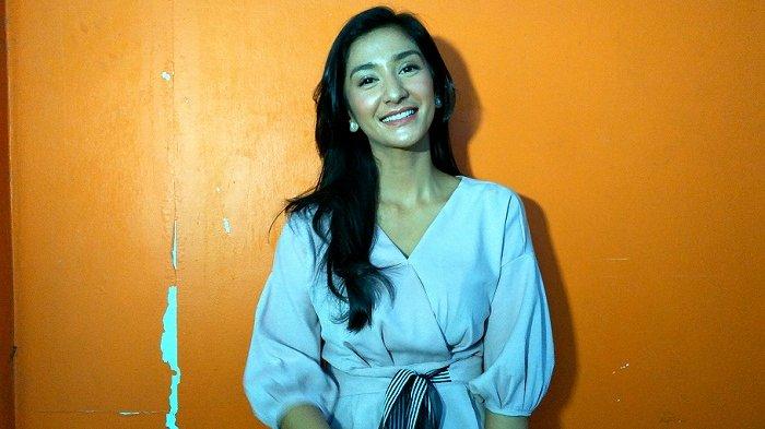Fanny Ghassani di TransTV, Jalan Kapten Tendean, Mampang Prapatan, Jakarta Selatan, Rabu (20/12/2017).