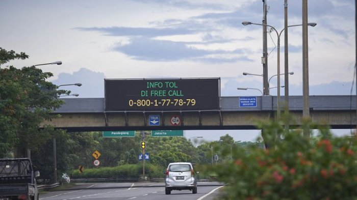Sebanyak 160.000 Kendaraan Lintasi Tol Tangerang-Merak