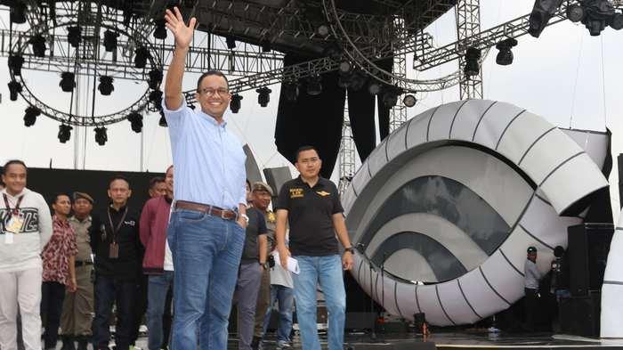 Gubernur DKI Jakarta Enjoy Tanggapi Rumput Monas Rusak karena Konsepnya Park Bukan Garden