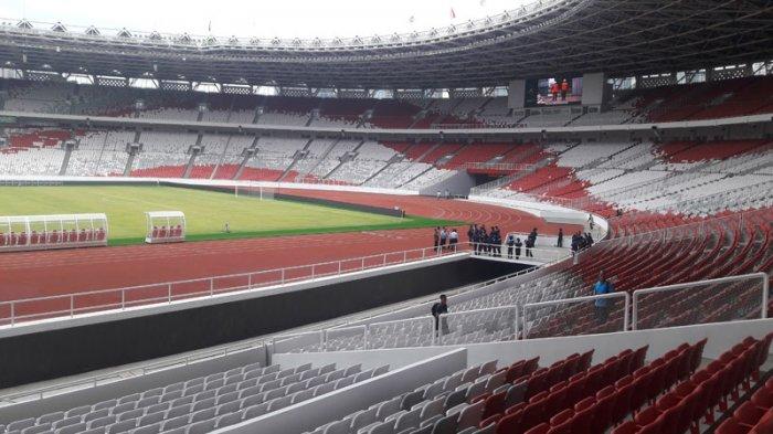 SU GBK Jadi Stadion Paling Terang Di Asia