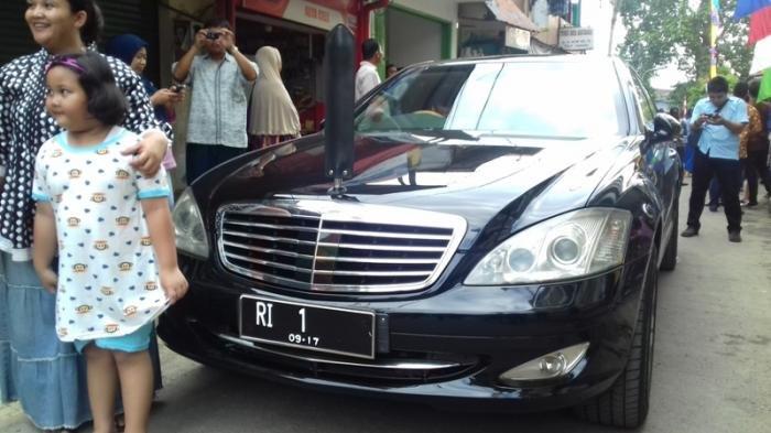 Ini Arti Nomor Plat Kendaraan Pejabat Negara Termasuk Presiden, Menteri dan Polisi