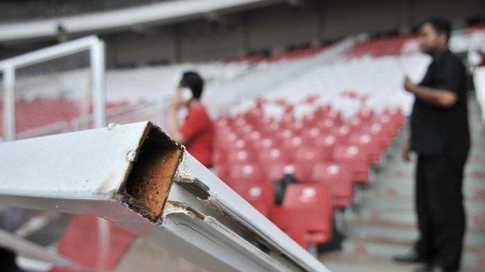 Menteri PUPR Sedih Stadion GBK Rusak Usai Piala Presiden 2018