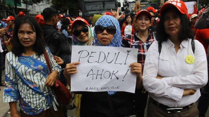 Amnesty Internasional Indonesia Sesalkan Mahkamah Agung Tolak PK Ahok