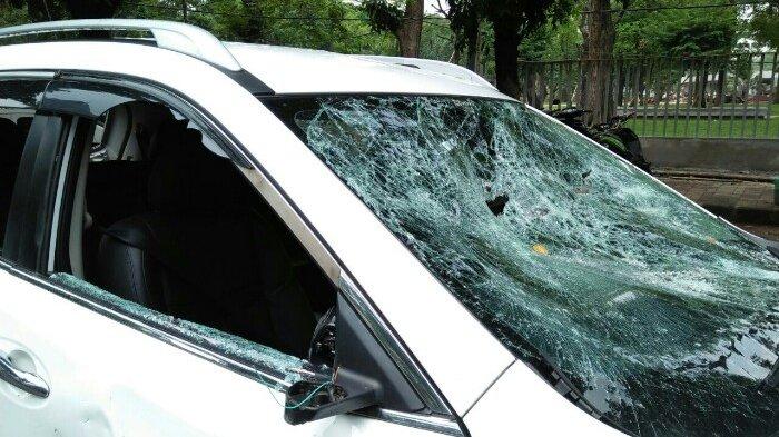 Polisi Tetapkan Dua Pengemudi Ojek Online Jadi Tersangka Perusakan Mobil Nissan X-trail