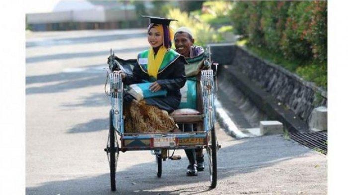 Raih Beasiswa, Anak Pengayuh Becak Ini Akan Studi S-3 di Birmingham, Inggris
