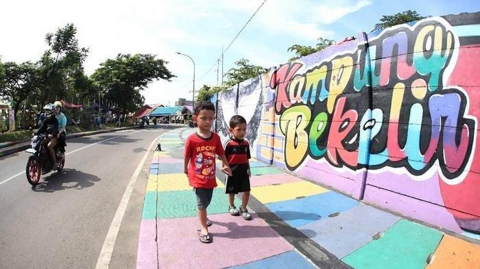 Kampung Kumuh di Tangerang Ini Sudah Menjadi Kampung Bekelir