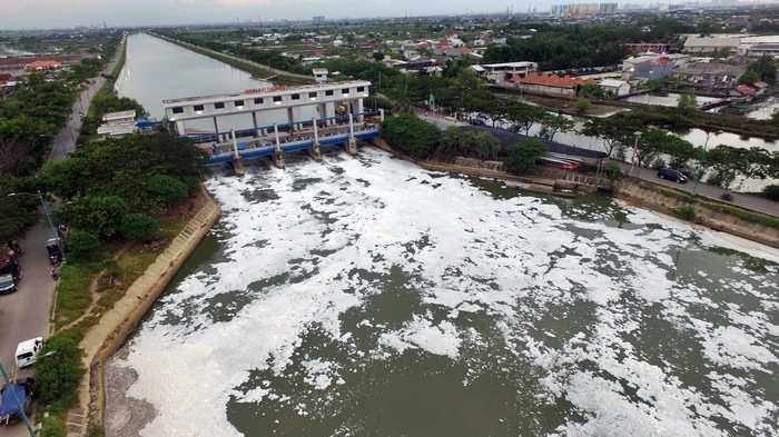 Kondisi Pintu Air Senin 27 Januri 2020, Siaga 3 di Pesanggrahan, Angke, PA Marina, Pasar Ikan