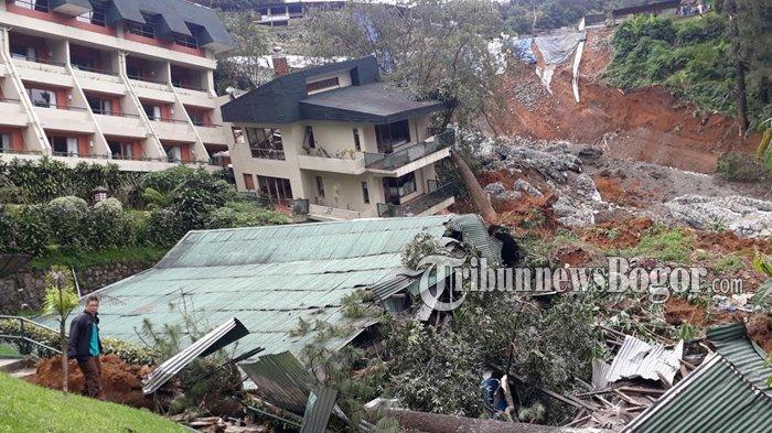 Puncak Pass Resort Paling Parah Jadi Korban Tanah Longsor