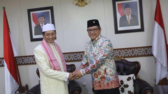 BERITA FOTO: Sekjen PDIP Silaturahmi ke Imam Besar Masjid Istiqlal