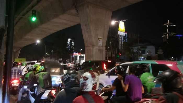 Kuningan-Mampang Lancar, Jalan Kapten Tendean Jadi Jalur Tengkorak Baru