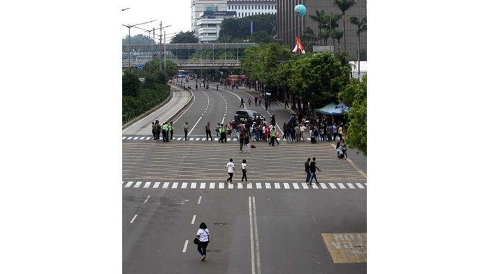 Menjengkelkan, Penutupan Jalan di Kawasan Sarinah untuk Syuting Film hingga Berjam-Jam