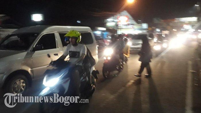 Arus Lalin di KS Tubun Kota Bogor Arah Simpang Jambu Dua Plasa Terpantau Ramai Lancar