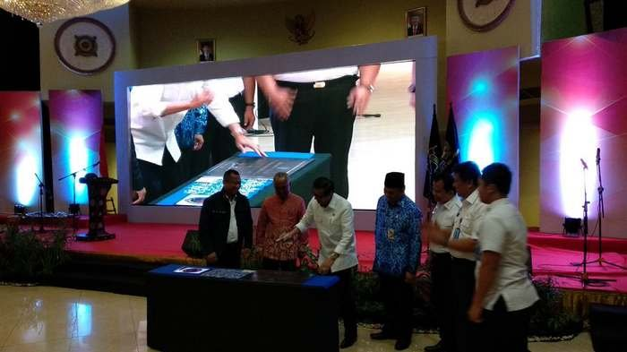 Menkumham Resmikan TPI Pelabuhan Marina Ancol