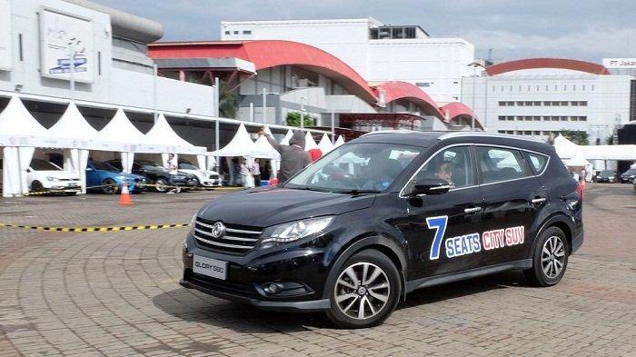 DFSK Glory 580,SUV Terbaik dan Paling Banyak Dicoba di IIMS 2018