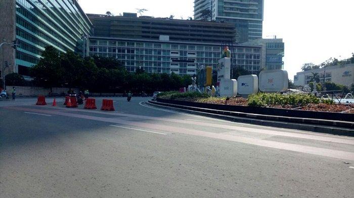 Aksi 1812 Polda Metro Jaya Siapkan Skema Pengalihan Arus Lalu Lintas Antisipasi Kemacetan
