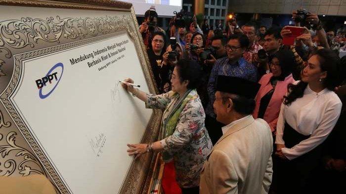 BERITA FOTO: Megawati dan Habibie Dukung Indonesia Jadi Negara Iptek