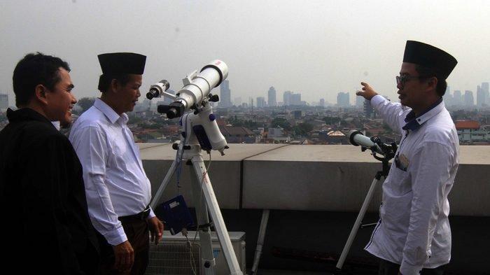 Ini Daftar Lokasi Lihat Bulan dan Urutan Proses Sidang Isbat Penetapan 1 Syawal 1440 Hijriah