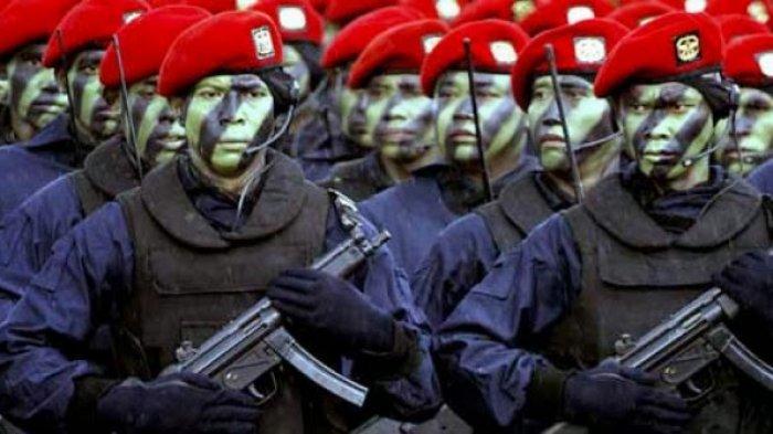 KISAH 5 Prajurit Koopsgabssus Tricakti TNI Sergap Teroris MIT, Tengah Malam Merayap di Hutan