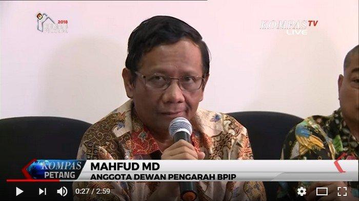 Status Keras Mahfud MD: Berantas Sarang Nyamuk Agar Tak Ada Gangguan, Netizen Sebut Partai Tertentu