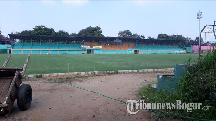 Rumput di Stadion Persikabo Bogor Sudah Menghijau dan Siap Dipakai Asian Games