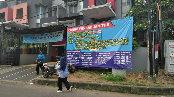 Awasi Pemberian THR di 6.023 Perusahaan, Disnaker Tangerang Buka Posko Pengaduan Hingga 20 Mei