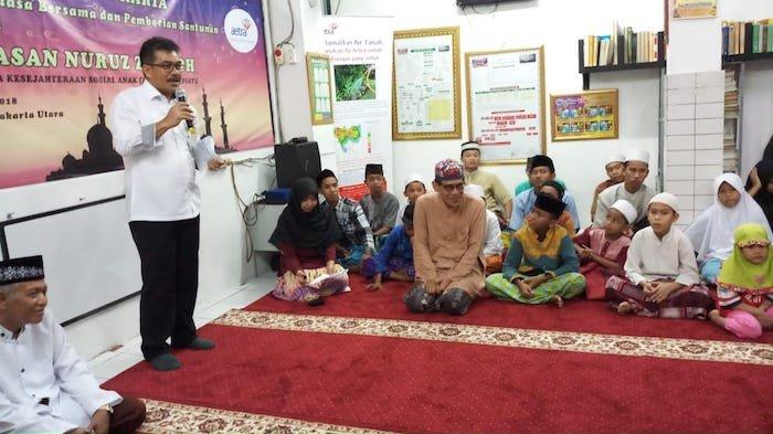 PT Aetra Air Jakarta Berbagi dengan Anak Yatim Piatu
