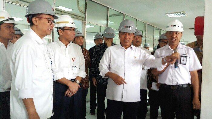 Menristekdikti Harap Madiun Jadi Pusat Riset Perkeretaapian di Indonesia