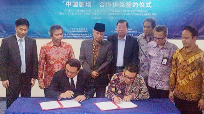 TVRI Kerjasama Pertukaran Program Film Dan Joint Production Dengan China Media Group