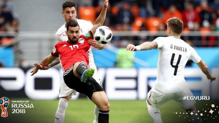 Mesir Takluk dari Uruguay, Kado Pahit Untuk Mohamed Salah di Hari Ulang Tahunnya