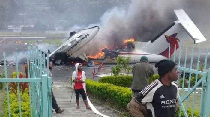 Pesawat dan Rumah Gubernur Dibakar, Papua Nugini Umumkan Kondisi Darurat