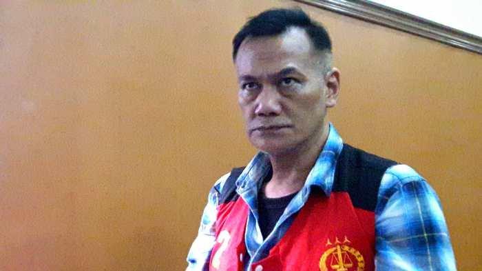 Tio Pakusadewo di Pengadilan Pengadilan Negeri Jakarta Selatan, Jalan Ampera Raya, Cilandak, Jakarta Selatan, Kamis (28/6/2018).