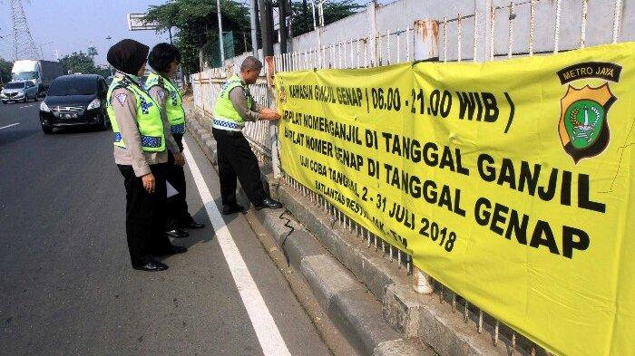 Dirlantas Sebut Aturan Ganjil Genap Diberlakukan setelah PSBB DKI Jakarta Berakhir