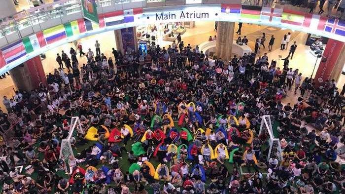 Babak Final Piala Dunia, Lotte Shopping Avenue Hadirkan Layar Raksasa