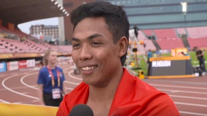 Sprinter Lalu Zohri Gagal Tampil Maksimal di Test Event Olimpiade Karena Baru Pulih Cedera Lutut