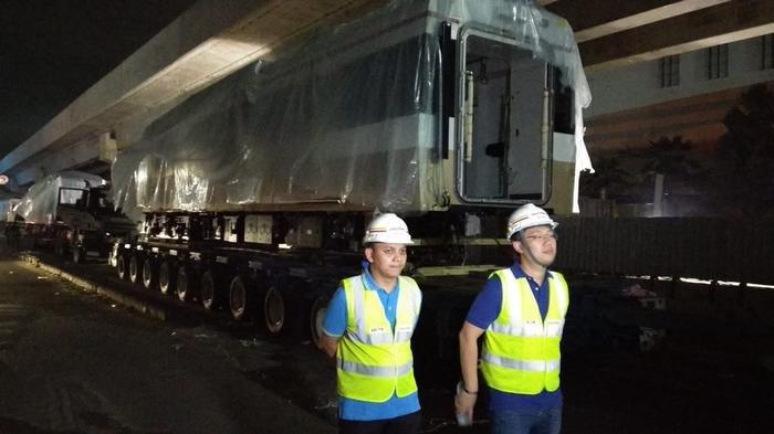 Gerbong LRT Jakarta yang Dipakai untuk Asian Games 2018 Nyaris Tanpa Getaran dan Kedap Suara