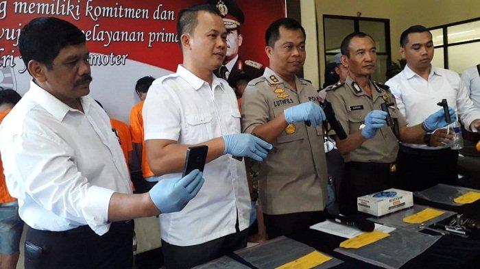 Tiga Perampok Ambruk Diterjang Peluru di Bekasi, Satu Tewas