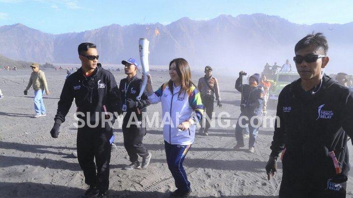Jadwal Pawai Obor Asian Games di Bromo Amburadul, Perlu Mendapat Perhatian Presiden