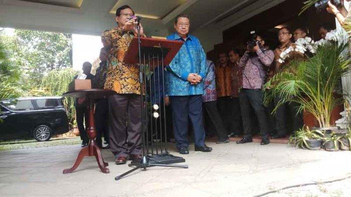 Dukung Prabowo Capres 2019, Inilah Visi-Misi yang Diinginkan SBY
