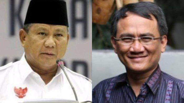 Andi Arief Sebut Prabowo Tak Serius Jadi Presiden, Partai Demokrat Tak Berikan Sanksi