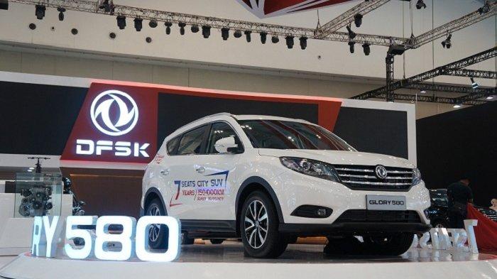 DFSK Glory 580, Juara 3 Favorite Passenger Car di Ajang GIIAS 2018