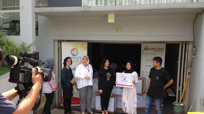 Megapolitan Salurkan Bantuan Tuk Korban Gempa di Lombok