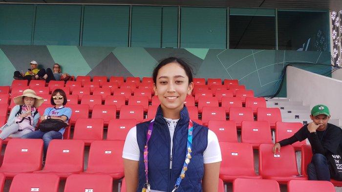 Atlet Berkuda Nadia Allegra: Kudaku Sempat Stres Saat Masuk Arena Pertandingan Asian Games