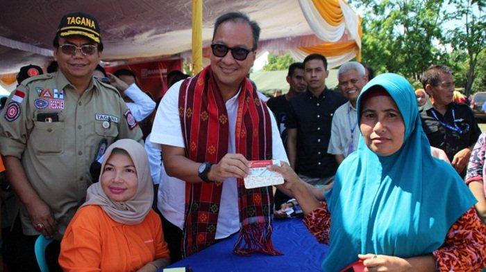 Mensos Agus Gumiwang Cairkan Bansos PKH untuk Korban Gempa di Sumbawa