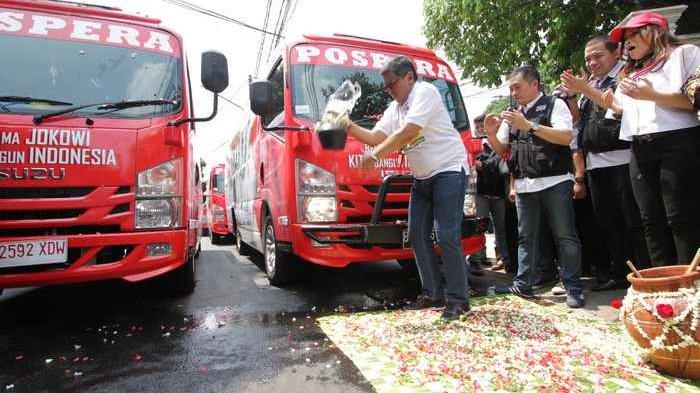BERITA FOTO: Sekjen PDIP Luncurkan Bus Jokowi Sekali Lagi